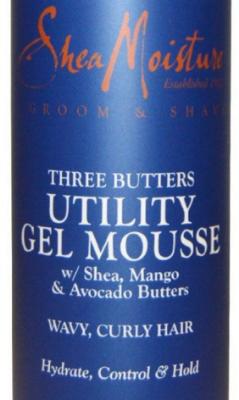 shea moisture 3 butters mousse
