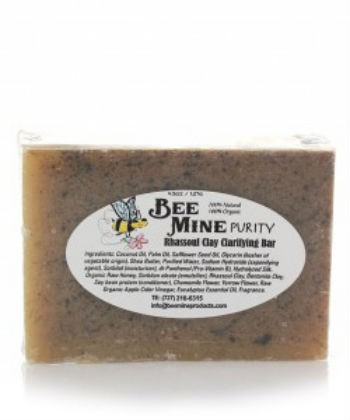bee mine purity rhassoul clarifying bar
