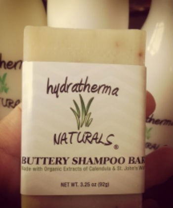 hydratherma naturals buttery shampoo bar
