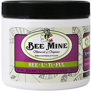 bee mine shea butter and coconut oil deep conditiner