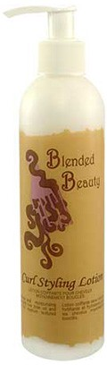 blended beauty curl styling lotion
