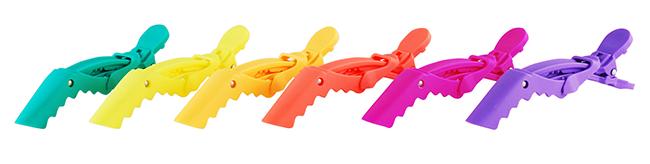 croc hair clips