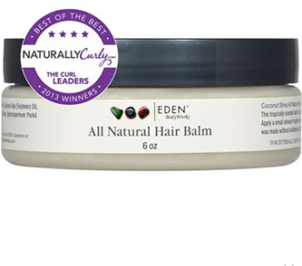 all natural hair balm with coconut