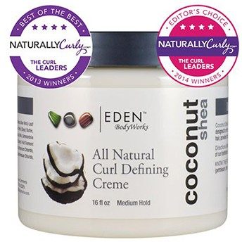 curl defining creme with coconut