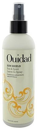 sun shield sun and sport leave in spray