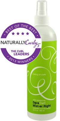 devacurl mister right refresher spray