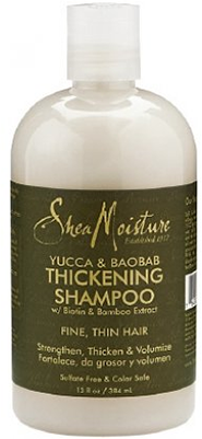 sheamoisture yucca and baobab shampoo