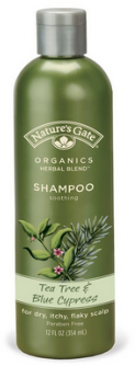 Nature's Gate Tea Tree and Blue Cypress Shampoo