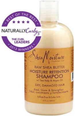 Shampoo organix para pelo rizado