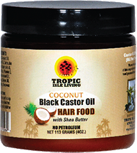 tropic isle coconut black castor oil