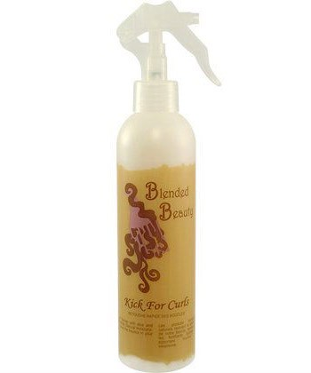 blended beauty kick for curls
