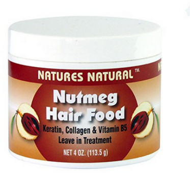 nature's nutmeg hair food