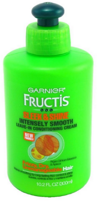 sleek and shine leave in garnier