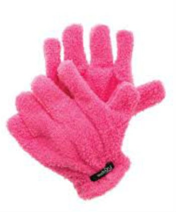 studio hair drying gloves