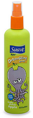 suave detangler apple kids